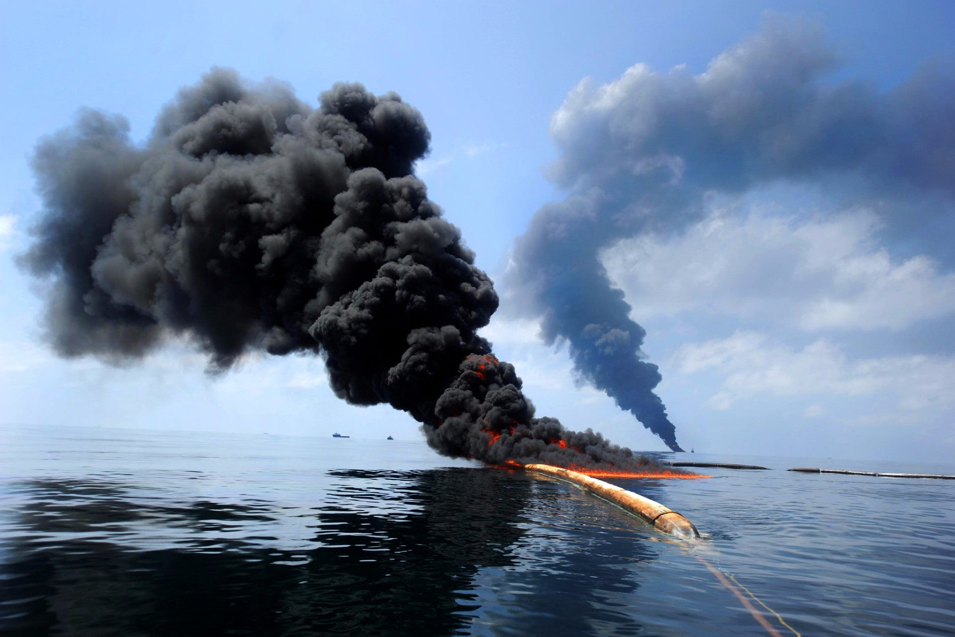 Deepwater Horizon explosion from Ecocide documentary