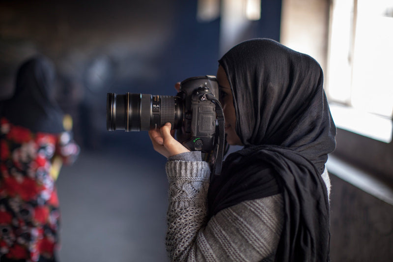 Farzana Wahidy photographs  Afghan women