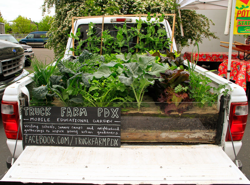 "Truck farm in Portland, OR from documentary ""Growing Cities"""