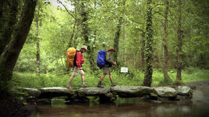 "Scene from documentary ""Walking the Camino"""