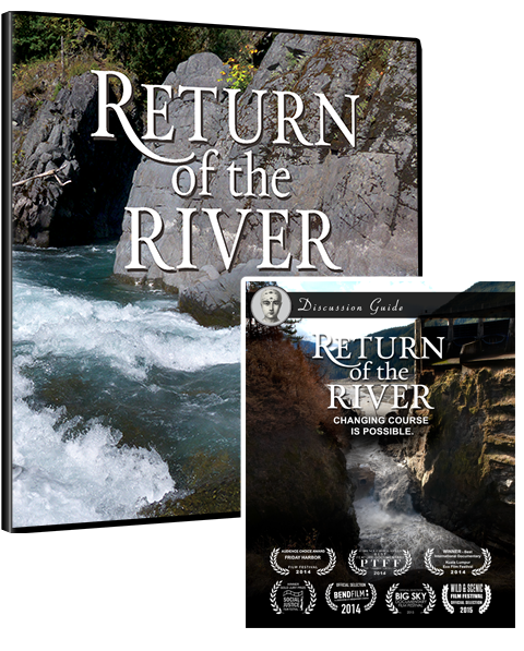 Return of the River DVD case