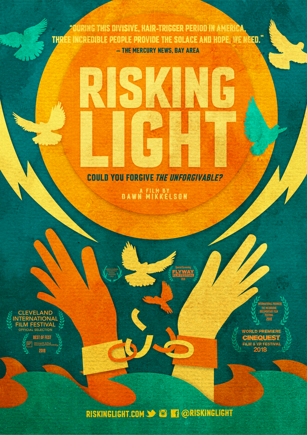 Risking Light Home DVD