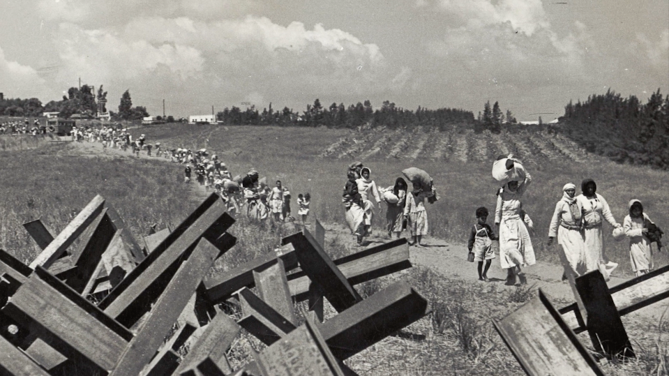 1948 creation catastrophe the israeli palestinian conflict