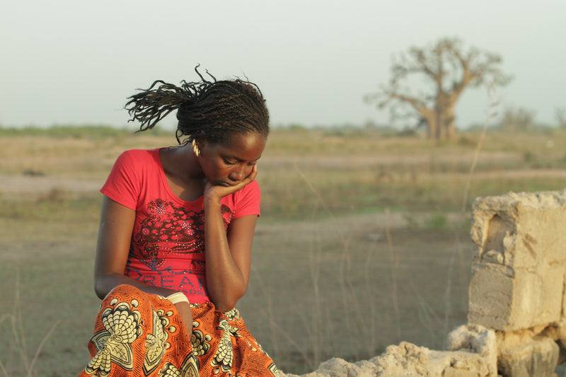 "Scene from documentary ""Tall as the Baobab Tree"""