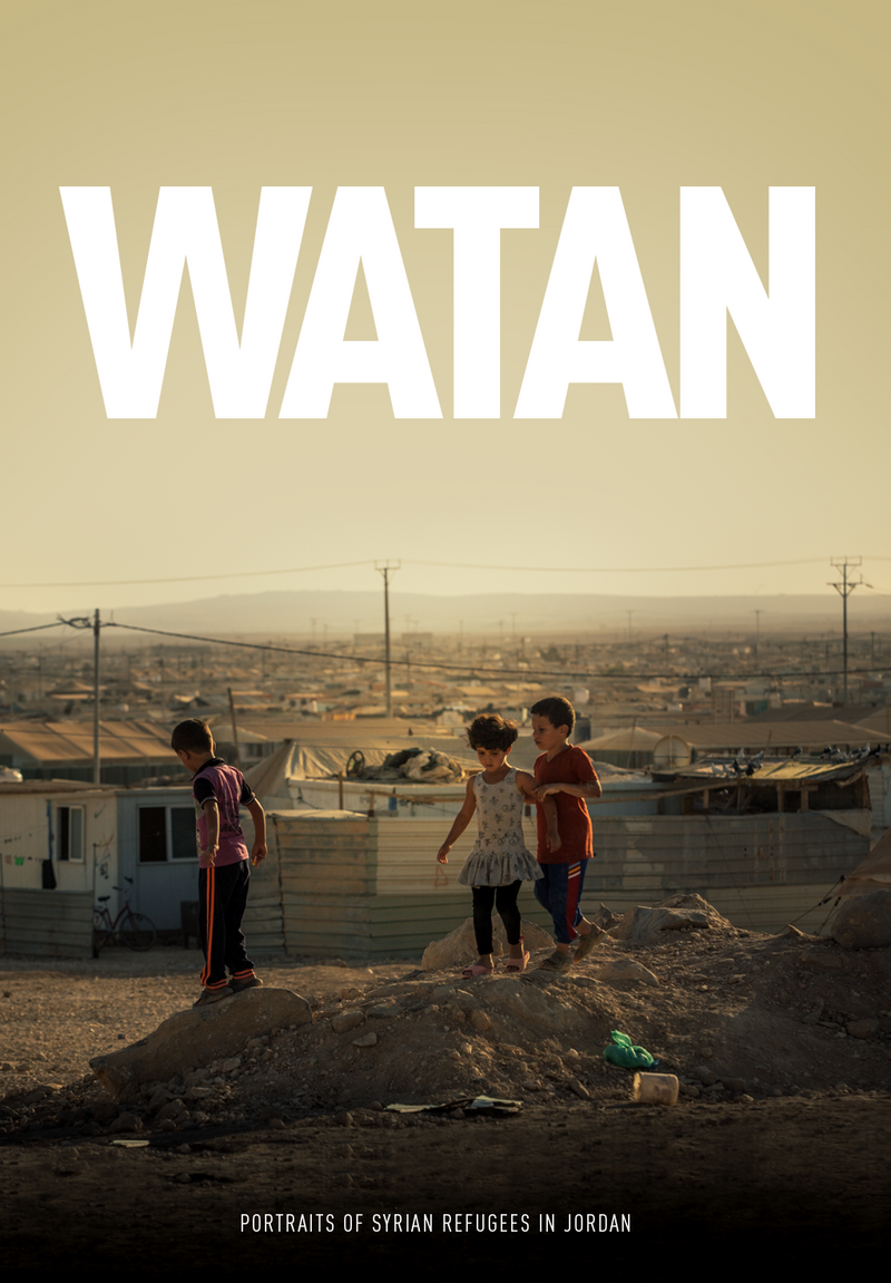 Watan: Portraits of Syrian Refugees in Jordan