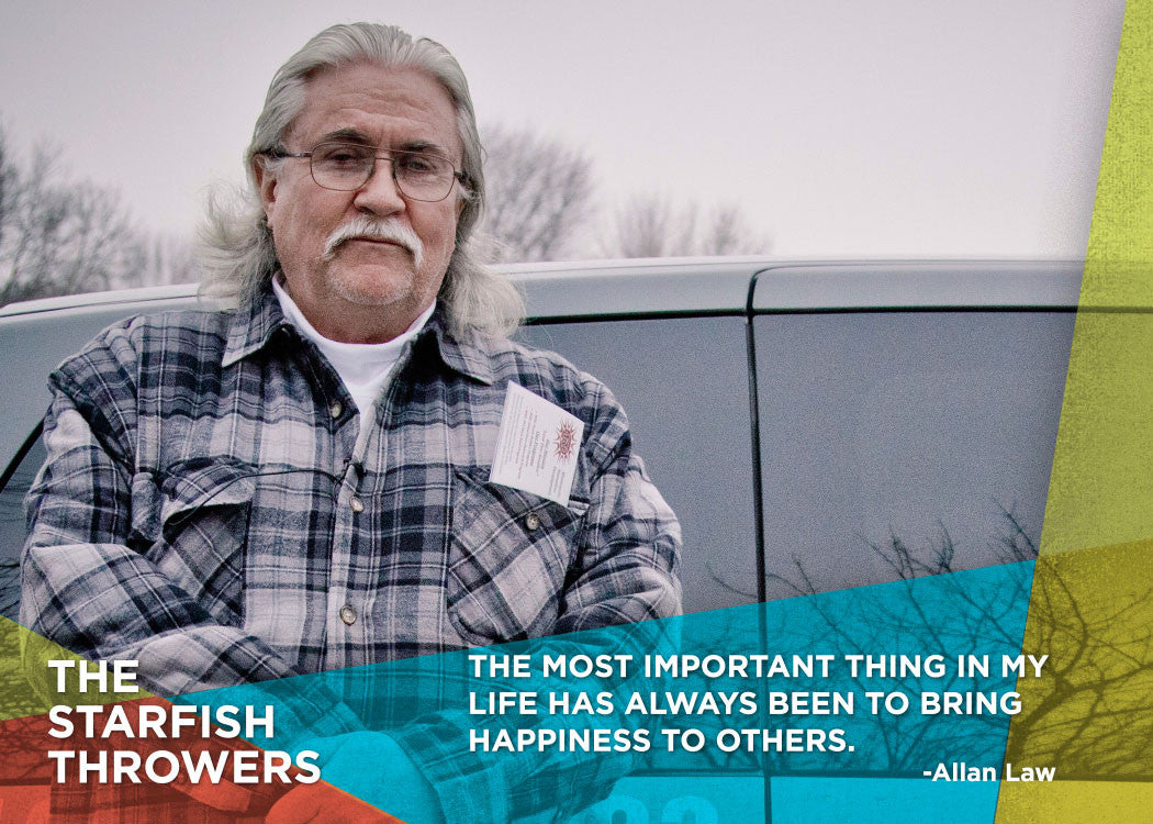 "Quote: ""The most important thing in my life has always been to bring happiness to others."" - Allan Law"