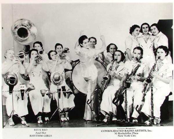 "Rita Rio and her Rhythm Girls from documentary ""The Girls in the Band"""