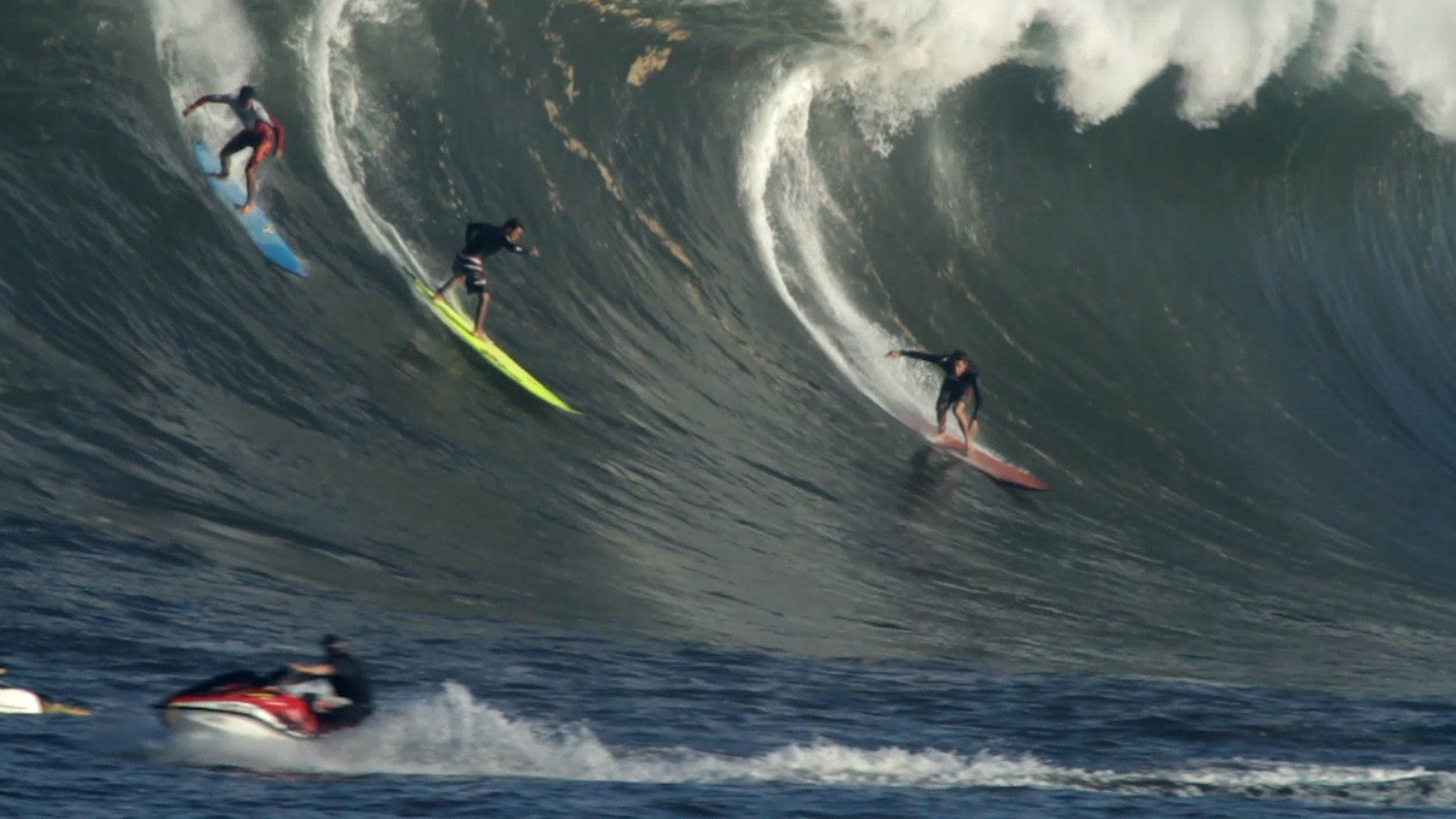 "Surf scene, from documentary ""Railroading Paradise"""