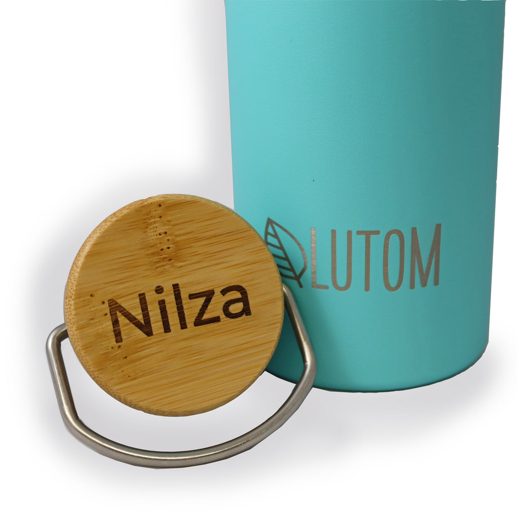 Personalize your eco-essentials with laser engraving