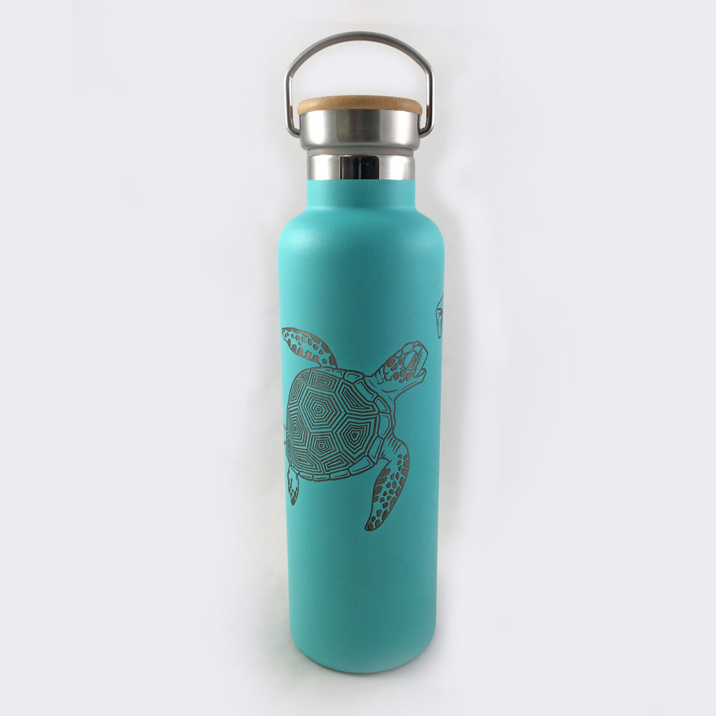 Sea Turtle Insulated Thermos Bottle