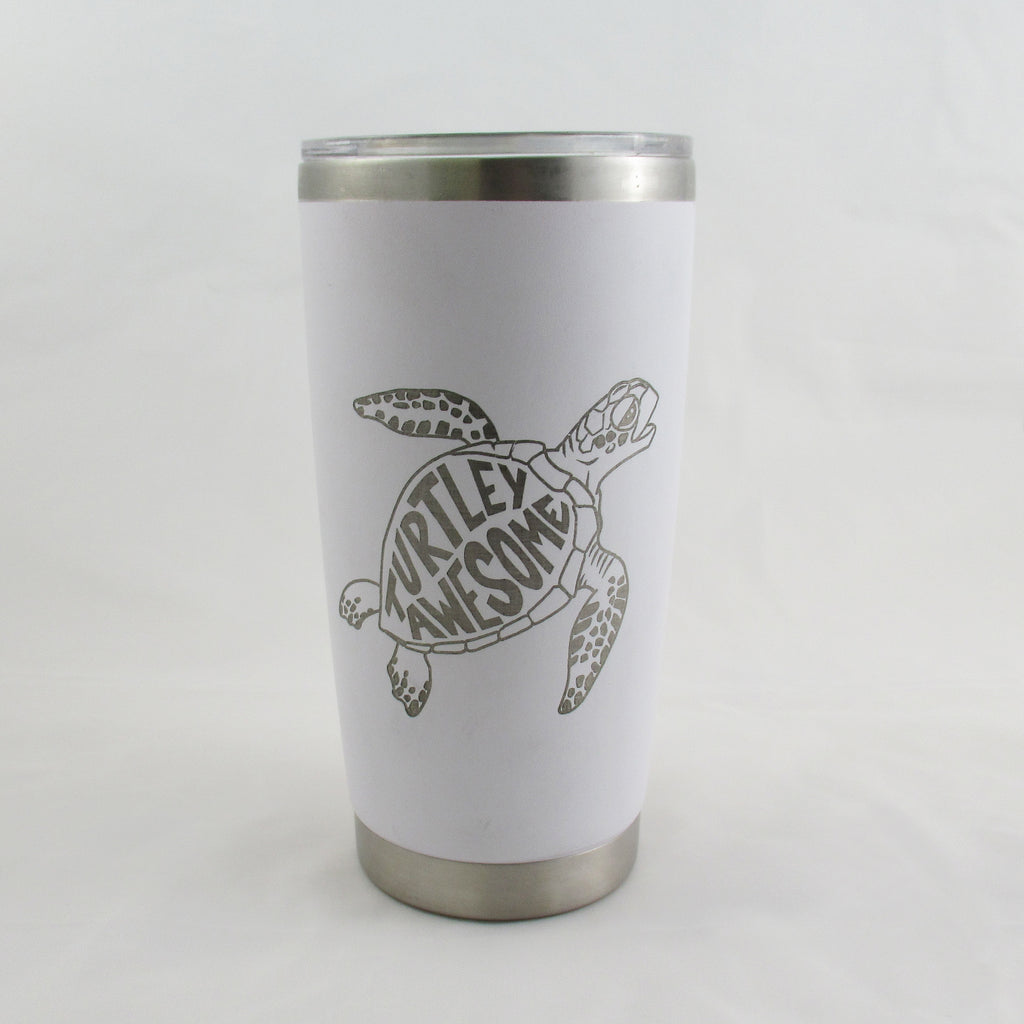 Turtley Awesome Tumbler 20oz Cup