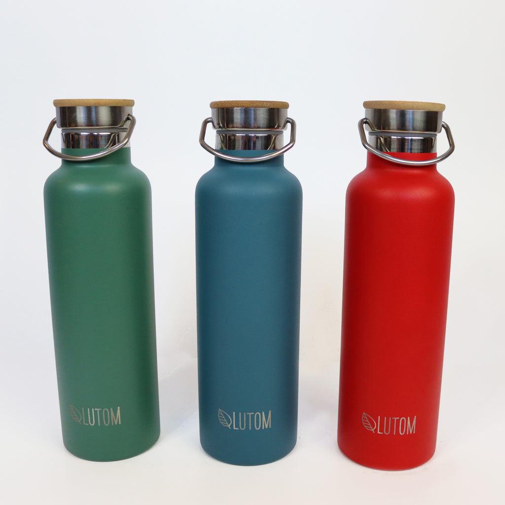 Insulated Thermos Water Bottle. 2nd Color Wave!