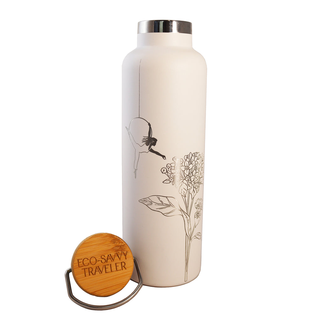 Eco-Savvy Traveler Insulated Thermos Bottle