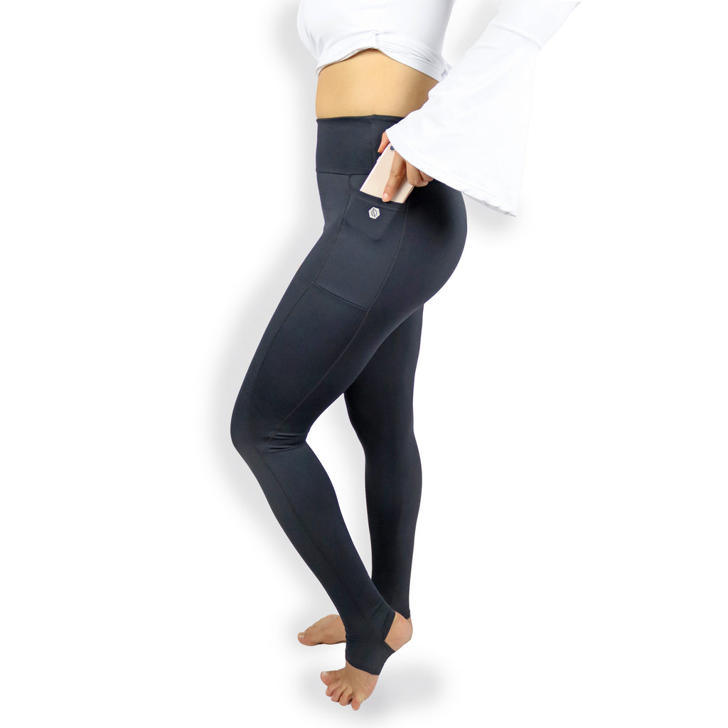 High Rise Stirrup Leggings