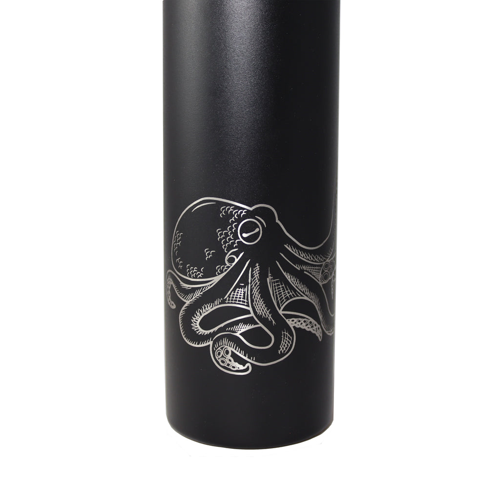Octopus insulated thermos bottle! 25oz