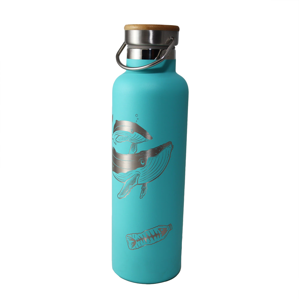 Whale Thermos water bottle