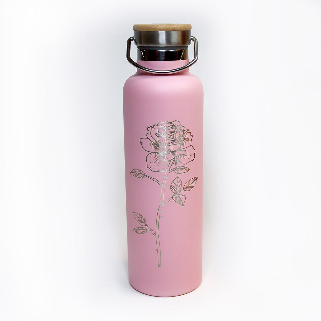 Rose Thermos Bottle