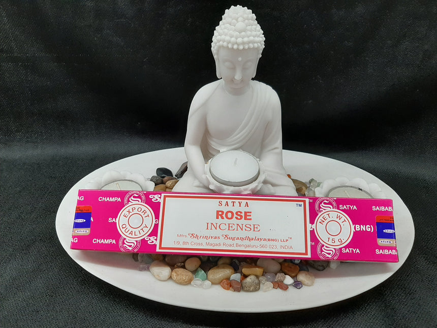 Incense Sticks Rose (Satya) - 15 Grams