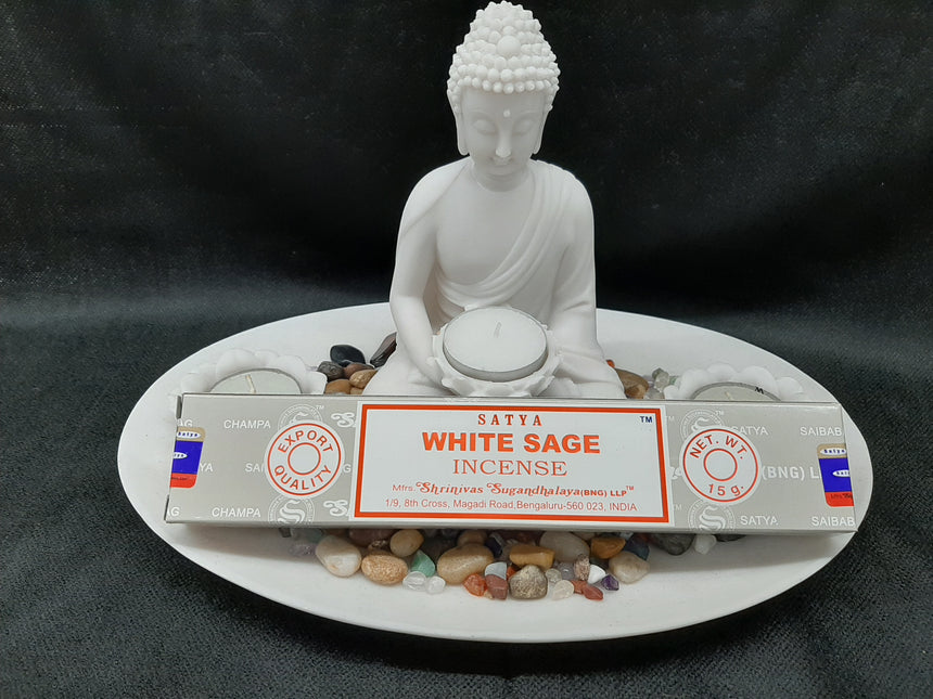 Incense Sticks White Sage (Satya) - 15 Grams
