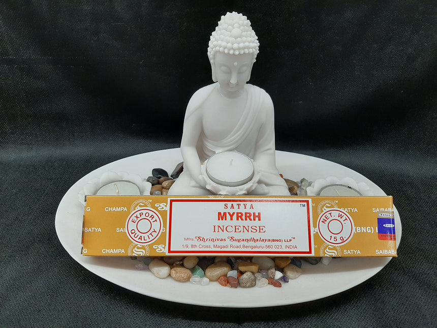 Incense Sticks Myrrh (Satya) - 15 Grams