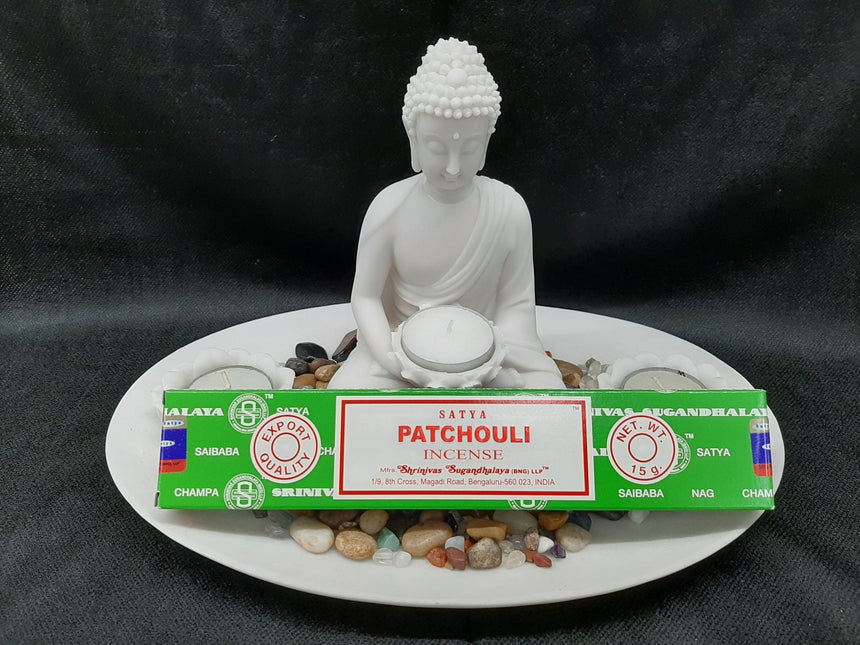 Incense Sticks Patchouli (Satya) - 15 Grams
