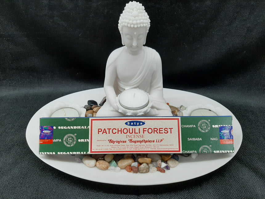 Incense Sticks Patchouli Forest (Satya) - 15 Grams