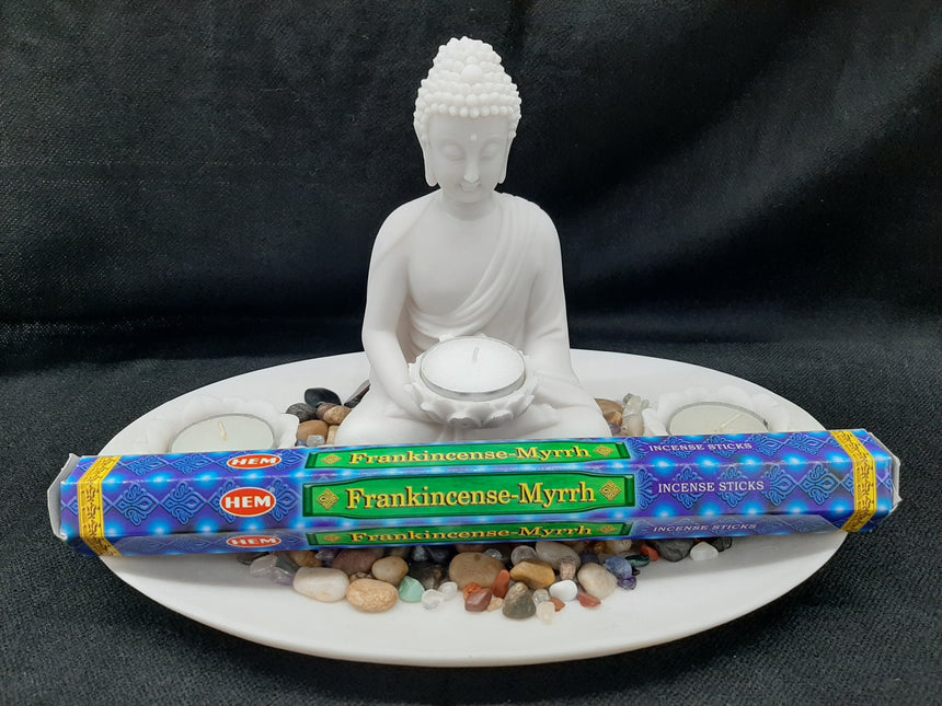 Incense Sticks Frankincense - Myrrh (Hem) - 20 Sticks