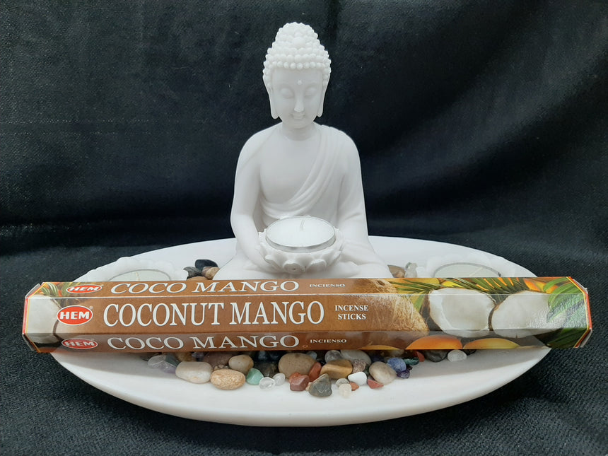 Incense Sticks Coconut Mango (Hem) - 20 Sticks