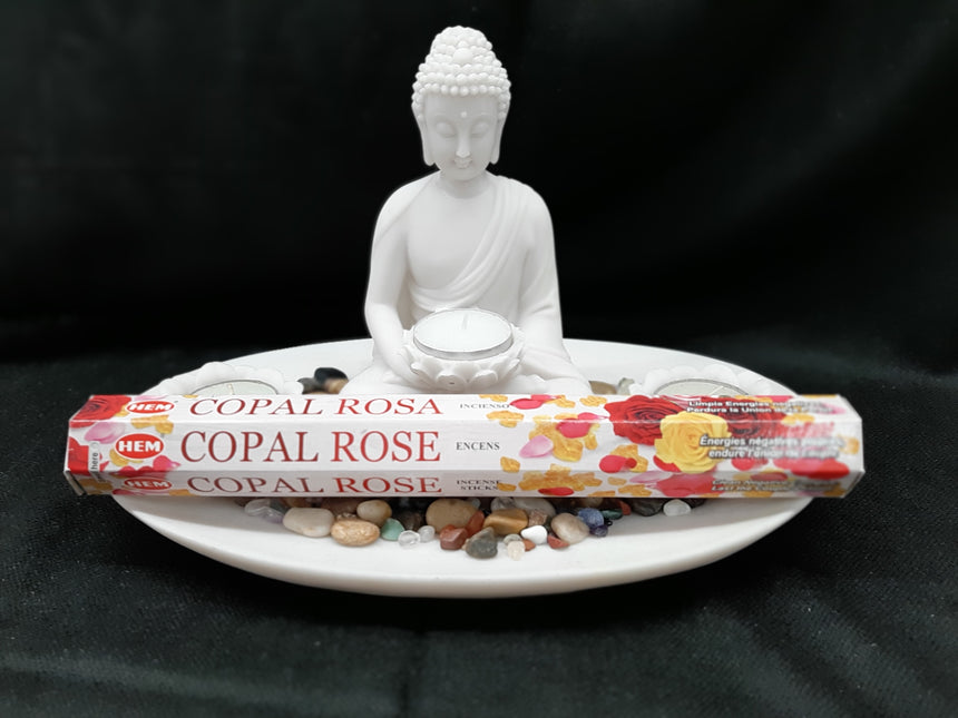 Incense Sticks Copal Rose (Hem) - 20 Sticks