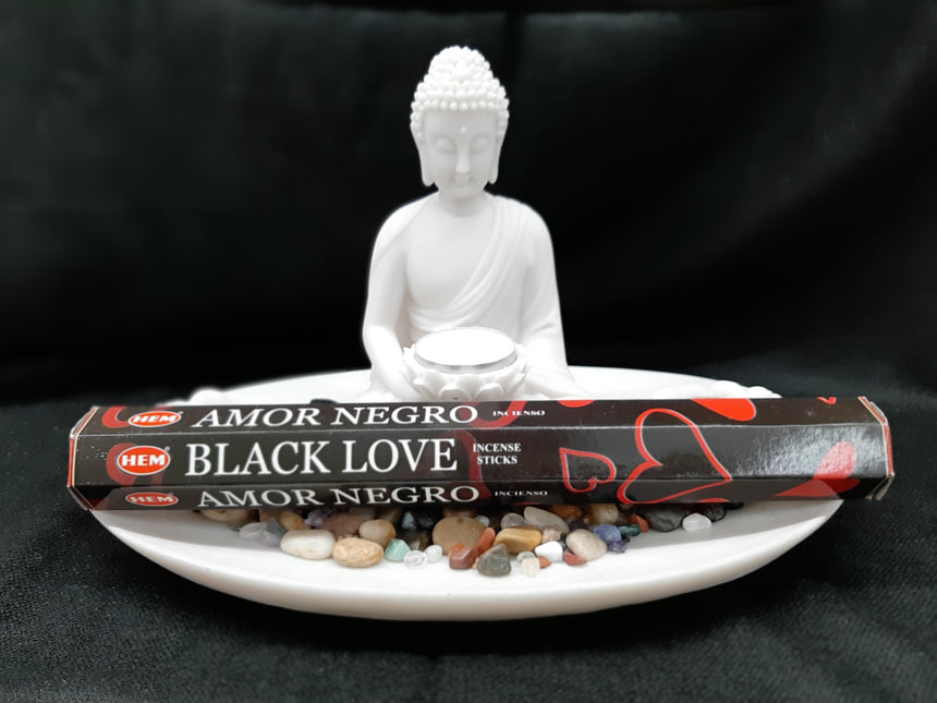 Incense Sticks Black Love (Hem) - 20 Sticks