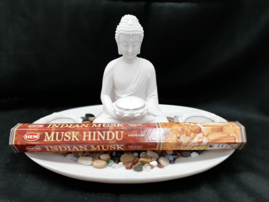 Incense Sticks Musk Hindu (Hem) - 20 Sticks