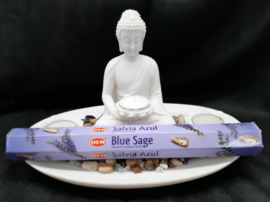 Incense Sticks Blue Sage (Hem) - 20 Sticks