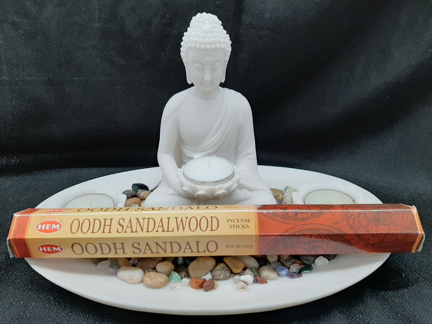 Incense Sticks Oodh Sandalwood (Hem) - 20 Sticks