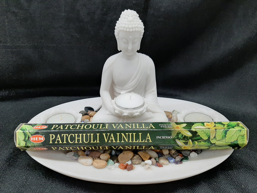 Incense Sticks Patchouli Vanilla (Hem) - 20 Sticks
