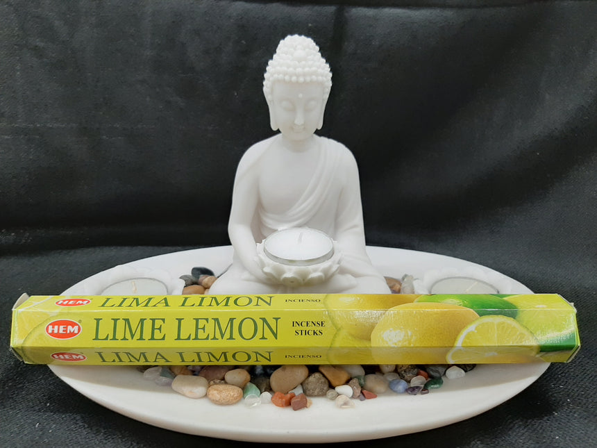 Incense Sticks Lime Lemon (Hem) - 20 Sticks