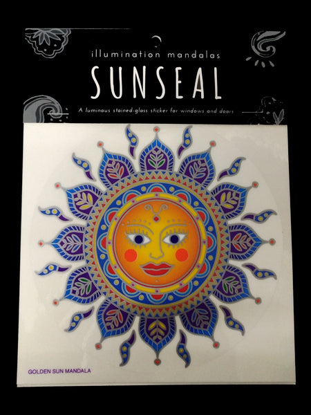 Sunseal - Golden Sun, Decal, Sticker