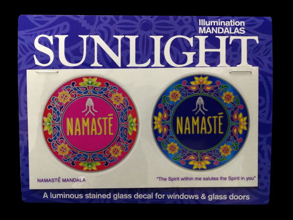 Sunlight - Namaste Mandala, Decal, Sticker