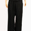 Black, Rayon - Fisherman, Pants