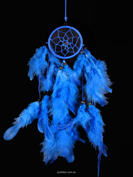 Blue (6cm), Small, Dream Catcher