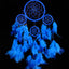 Blue (9cm), Small, Dream Catcher