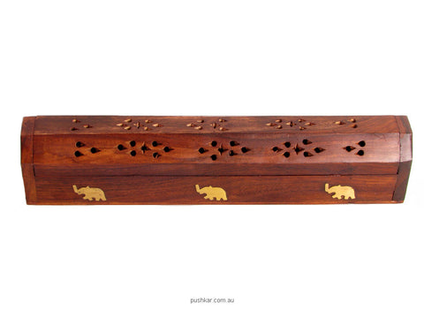 Box - Hexagonal (30cm), Incense Holder Mixed Designs, Incense