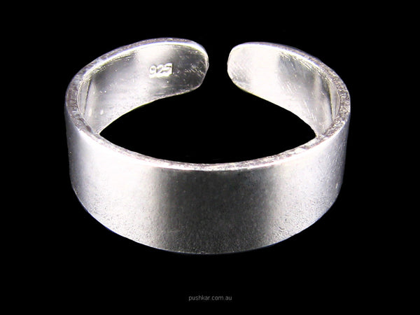 Plain Band - Sterling Silver, Toe Ring, Jewellery