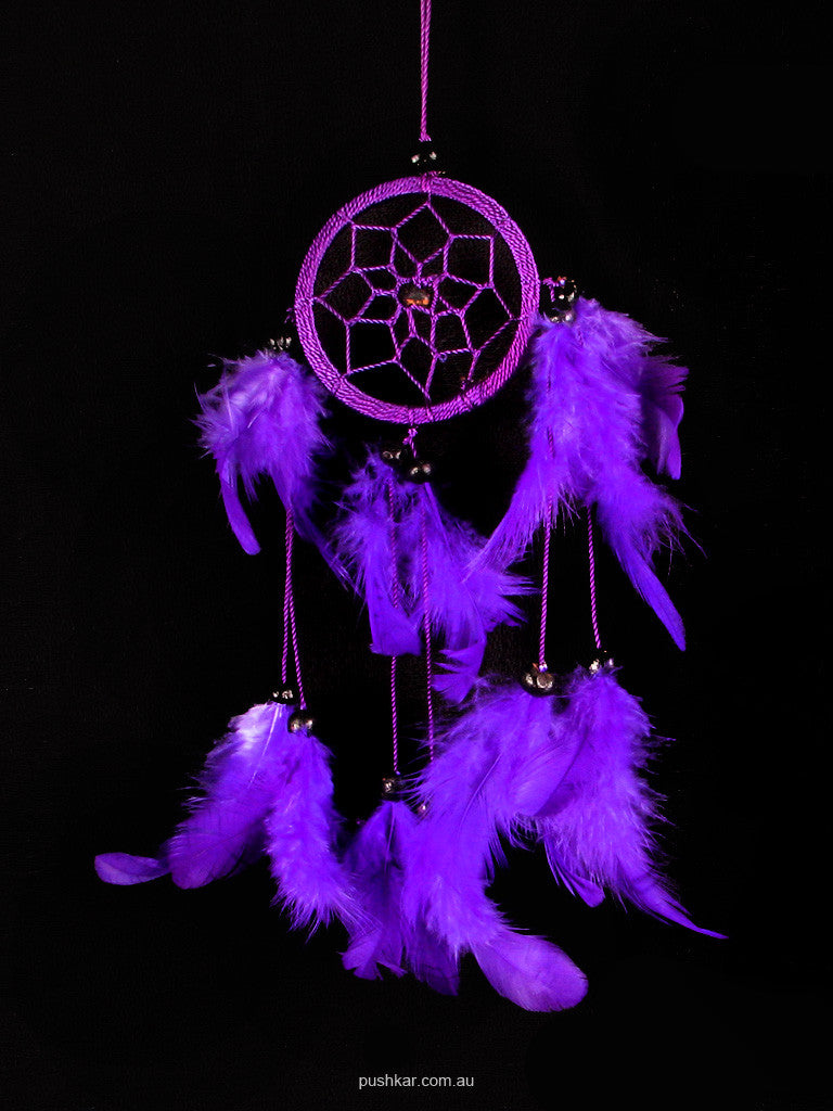 Purple (6cm), Small, Dream Catcher