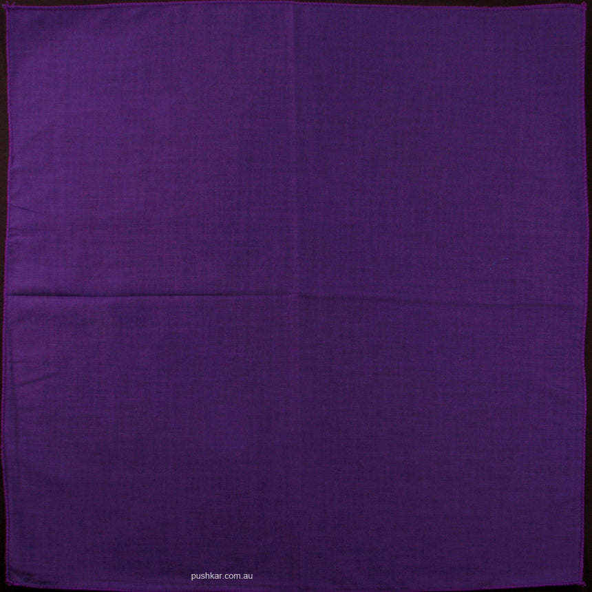 Purple, Plain, Bandana