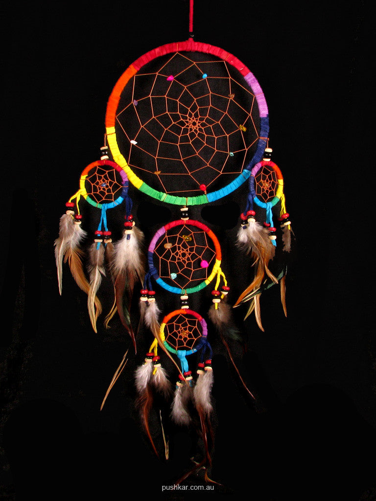 Round (17cm), Rainbow, Dream Catcher