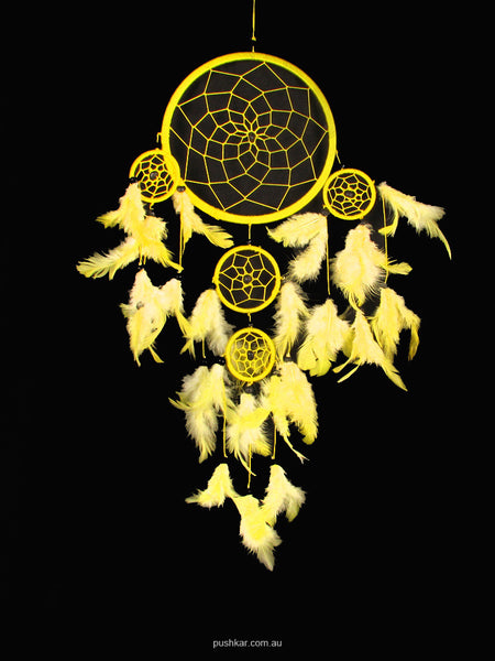 Yellow (16cm), Medium, Dream Catcher