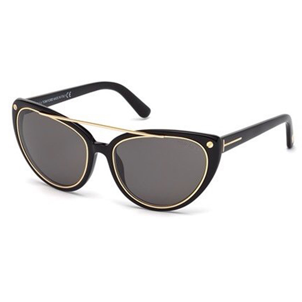 Tom Ford Cat Eye Black FT 0384 58 01A