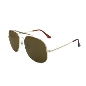 Aviator Square Gold Brown WS008SC2