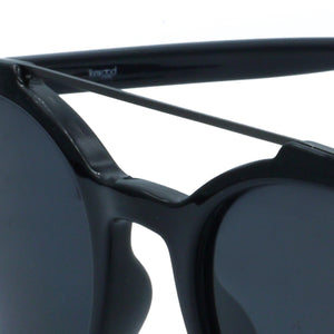 Classic Double Bridge Rounded Black WS012SC1