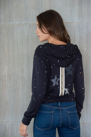 Cropped Lightning Star W/ Taping Jacket